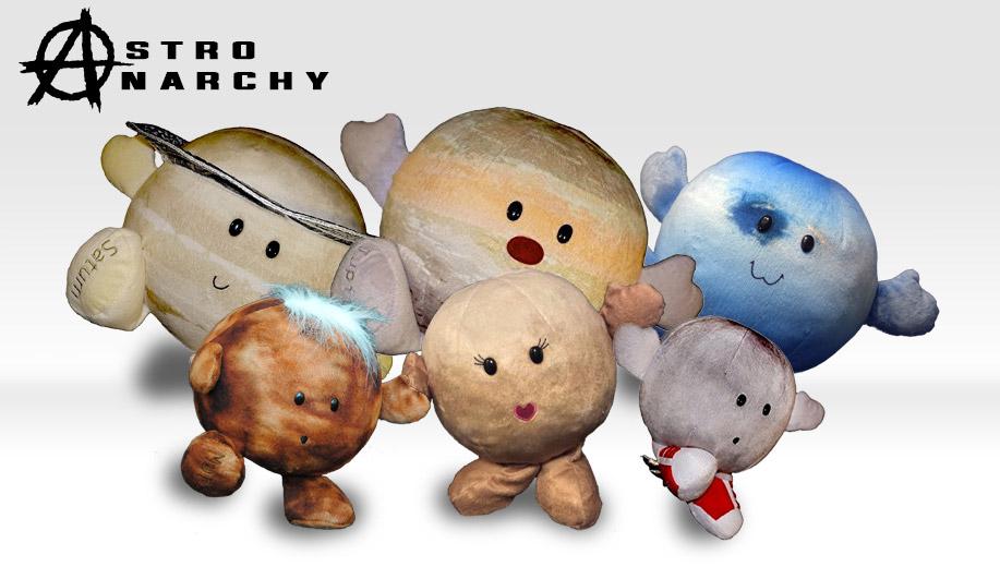 Celestial Buddies Plush Planets